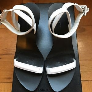 Alexander Wang ilva ankle strap sandals size 6