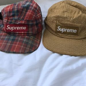 Red Authentic Supreme Hat