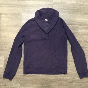 J. Crew // Purple V-Neck Pullover