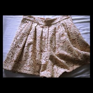 Lauren Moffatt lace skorts