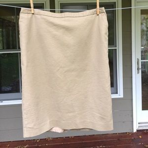 Target brand New Merona Skirt tan