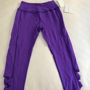 NWT - Beyond Yoga Purple Capri Leggings Size S
