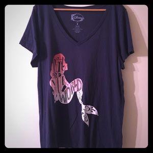 Disney Little Mermaid Ariel Plus Size Tee Shirt