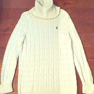 Ralph Lauren Cream Cable Knit Sweater ❄️⛄️