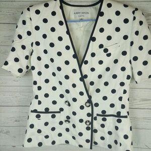 Jacket women albert nipon