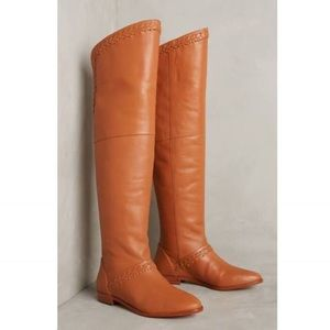 anthropologie • candela over-the-knee boots • nwt
