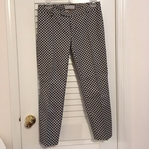 Gap slim cropped printed pants
