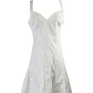 Ralph Lauren White Denim Dress