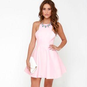 Keepsake Restless Heart pink dress