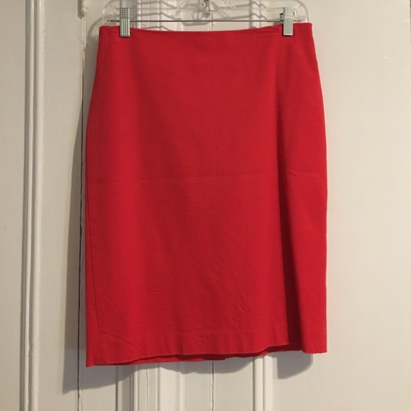 3dfbff1e73 Forever 21 Skirts | Bright Red Pencil Skirt | Poshmark