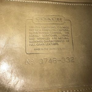 "Coach Bags - 1971 ""THE DUFFLE"" COACH # 076–332 mini crossbody"