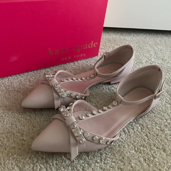 26d305924117 kate spade Shoes - ♤️KATE SPADE♤ Becca Flats Petal Pink Nappa ...