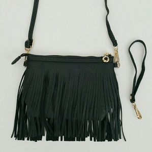 Handbags - Fringe Crossbody Bag - No Offers