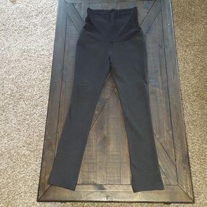 Pants - Black Maternity Leggings