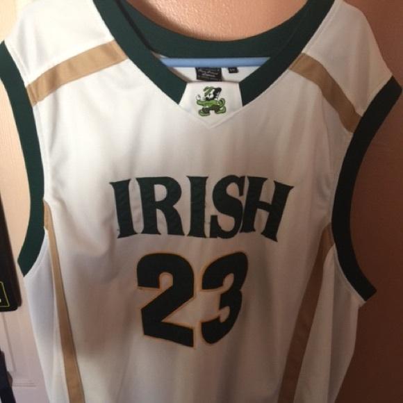 new concept 61602 faebd Used LeBron James Irish High School Legends Jersey