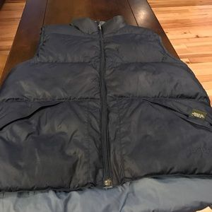 LL Bean reversible vest