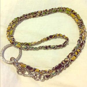 Vera Bradley chain lanyard