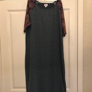 LuLaRoe Julia Dress 3X