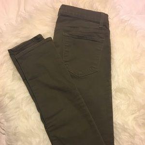 J Brand Twill Skinny Jeans