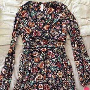 Xhilaration multi patterned dress, size M