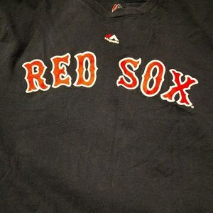 Mens Large Majestic Boston Red Sox Shirt
