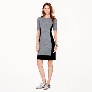 NWOT J Crew Colorblock Dress Size 0