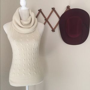 Ralph Lauren  Sleeveless Cowl Neck Sweater