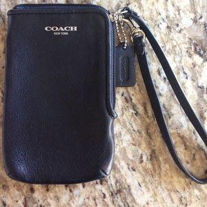 Coach Wristlet Wallet Phone Case