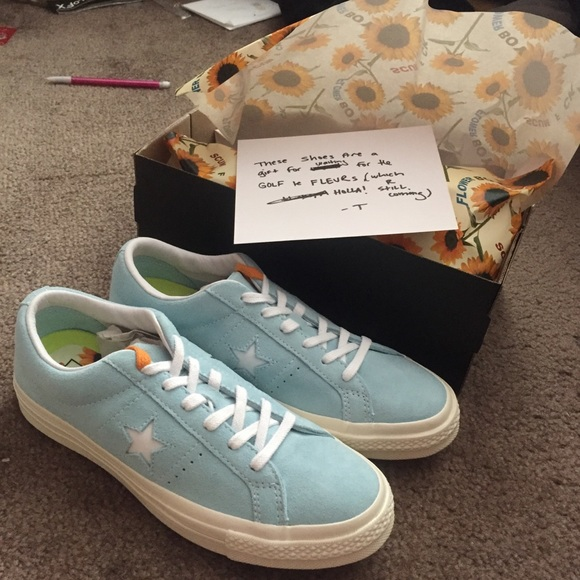 a91cf6893976 Converse x Tyler the creator collab one star shoes