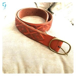 Leather Lucky Brand belt