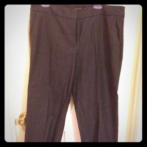 Eileen Fisher Cropped Wool Pants 14