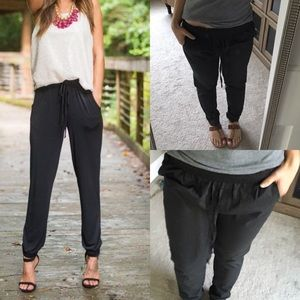 UO out from under drawstring crop  jogger harem