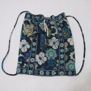 Vera Bradley Quilted Drawstring Bag Backpack *L23
