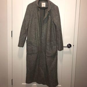 Popular grey Zara coat size M
