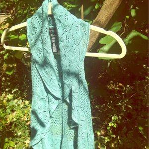 Forever 21 crochet vest