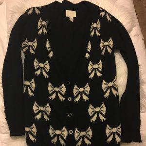 Bow Cardigan Sweater