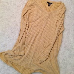 NWOT Tunic style hi low top