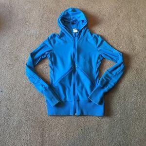 Nike Blue Zip-Up