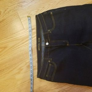 Michael Kors Women's skinny Fit Crop indigo pants