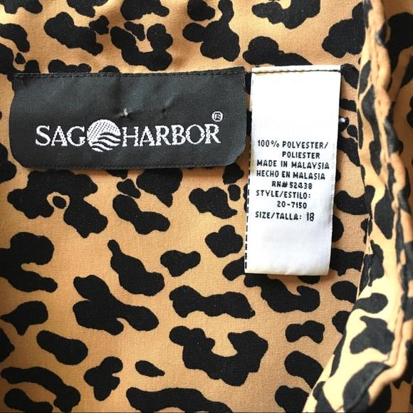 Sag Harbor Jackets & Coats - Sag Harbor Tab Collar Short Button Jacket Satiny