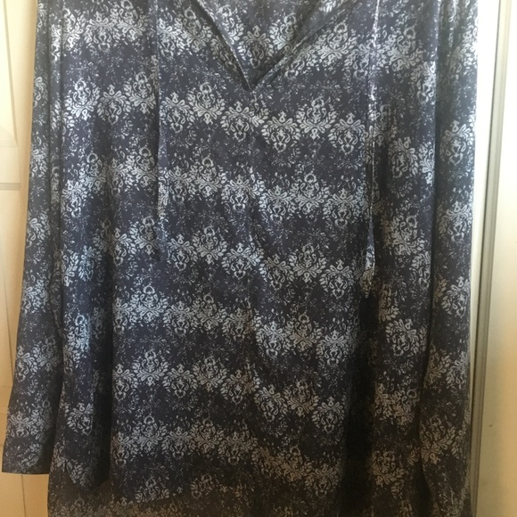 14th & Union Tops - XL tunic top black/white by 14th and Union