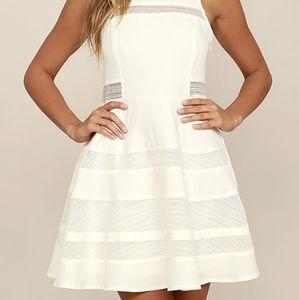 7ef58d7ba9 Lulu s Dresses - Host Pick! Play Nice Ivory Skater Dress
