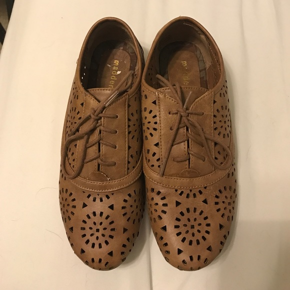 Madden Girl Shoes - Brown Oxfords