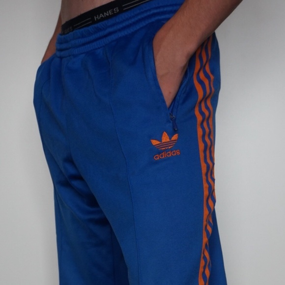 adidas Other - Adidas Blue/Orange Sweatpants