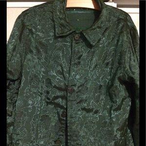 Jackets & Blazers - Beautiful reversible jacket.  Two jackets in one