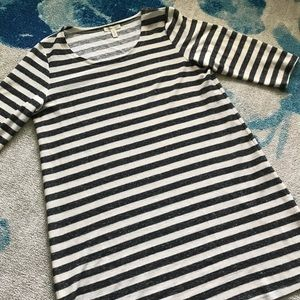Eileen Fisher Black and White Top
