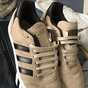 Other - Tan adidas Estrusco size 9