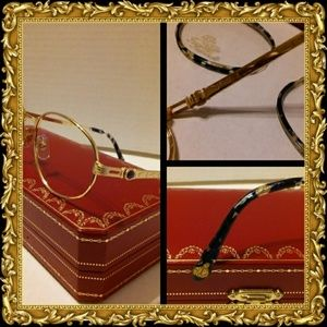 1722abff31b Mens Faconnable 22k gold vintage eyeglasses!