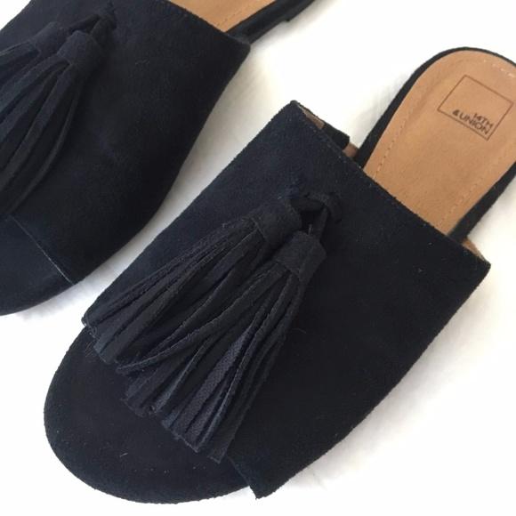 14th & Union Shoes - 14th & Union Tasseled Slides.