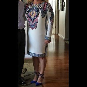 Donna Morgan Long Sleeve Dress Sz 14